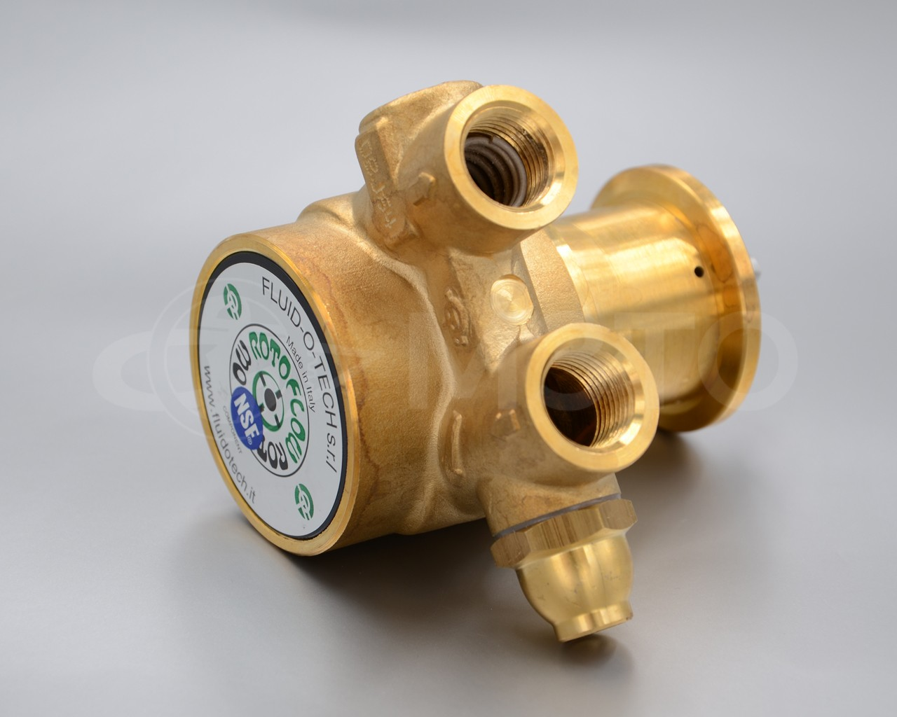 Насос объёмный роторный Fluid-O-Tech
